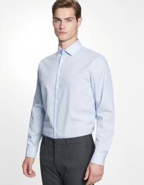 Men`s Shirt Tailored Fit Check/Stripes Longsleeve